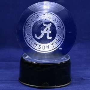 Alabama Crimson Tide Team Logo Laser Globe