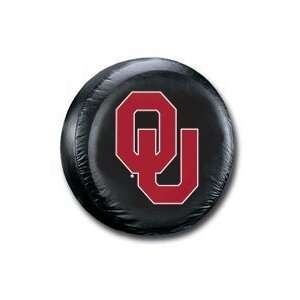 Oklahoma Sooners Black Spare Tire Cover