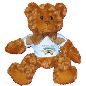 And On The 8th Day God Created HARPS Plush Teddy Bear with