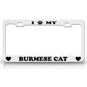 I PAW MY BURMESE Cat Pet Animal High Quality STEEL /METAL