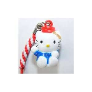 Red Hat Hello Kitty Bell Straps, Charms or Keychains, a
