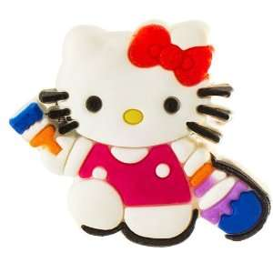 Jewelry Making Hello Kitty painter croc charm Arts, Crafts & Sewing