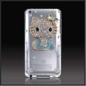 Hello Kitty Luxury crystal case cover for Apple iPod Touch 4 4G Cell