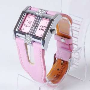 Hello Kitty Diamante Wrist Watch Band Wristwatch