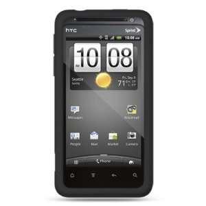 Black Premium 1 Pc Soft Gel Rubber Silicone Skin Case Cover for HTC
