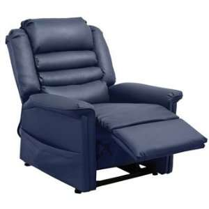 Invincible Power Lift Recliner in Deep Sapphire Furniture & Decor