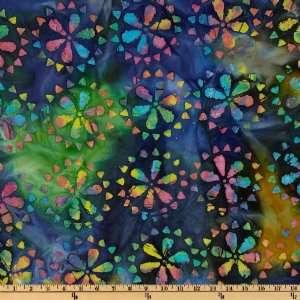 12 Purple Green Daisy Floral Fabric Pre cut Quilt Kit RJR Simple