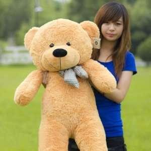 Super Cute Giant Plush Toy Teddy Bear 47 Brown Toys