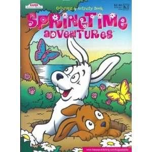 Kappa SpringTime Adventures Coloring & Activity Book 96
