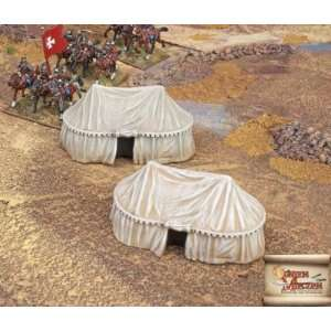 )   Terrain Eastern Style Military Tent Large (2) Toys & Games