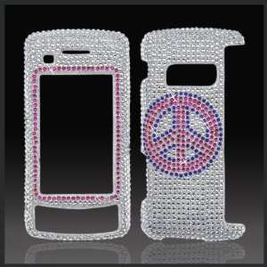 on Silver Cristalina crystal bling case cover LG Vx11000 EnV Touch