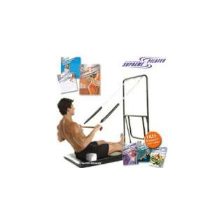 Ellen Crofts Supreme Pilates Machine + 5 DVD Workout Set