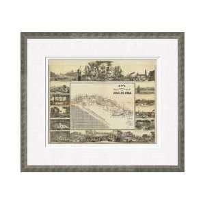 Mapa Historico Pintoresca Moderno De Al Isla De Cuba 1853