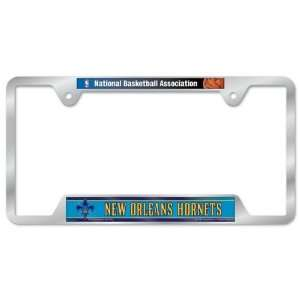 Hornets Metal License Plate Frame