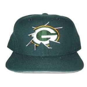New Era Green bay Packers NFL Snapback Hat Cap   Green Wool