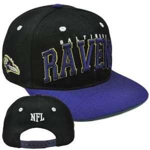 NFL Team Apparel SB400 Baltimore Ravens Flat Bill Snapback