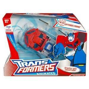 Transformers Animated Voyager Optimus Prime Earth Mod Toys & Games