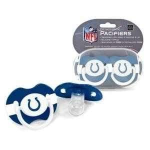 Indianapolis Colts NFL Baby Pacifiers (Set of 2)