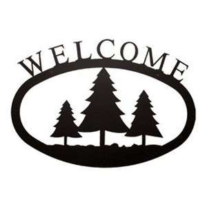 Pine Trees Welcome Sign M L Patio, Lawn & Garden