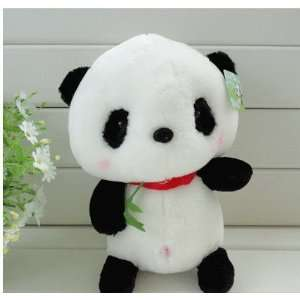 Plush Panda Bear with Bamboo Doll Stuffed Animal Toy 17 Toys & Games
