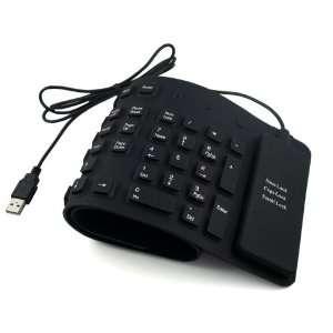 109 key Keyboard for Laptop/Notebook   Black
