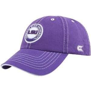 LSU Tigers Purple Broadside Adjustable Hat