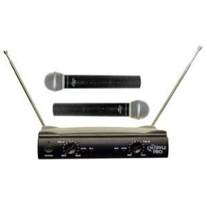 Pyle Dual VHF Wireless Microphone System Electronics