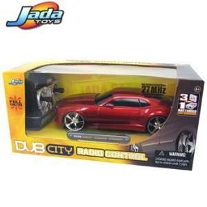 New 1/24 Radio Remote Control Car 2010 Chevy Camaro Ss Red