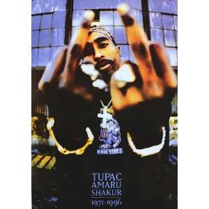 Music   Rap / Hip Hop Posters Tupac   Fingers   35.7x23.8