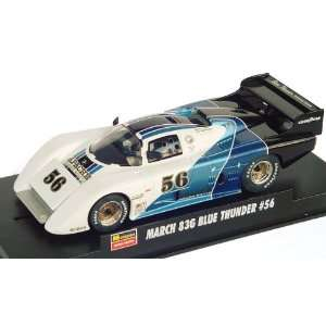 Revell Monogram   March 83G Blue Thunder 1/32 Slot Car (WH
