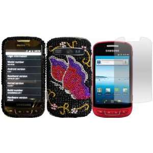 Diamond Bling Case Cover+LCD Screen Protector for Samsung Admire R720