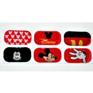 Mickey Mouse Home Button Sticker for Galaxy S/s2 I9003