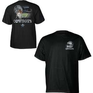 Dallas Cowboys Sky Helmet T Shirt