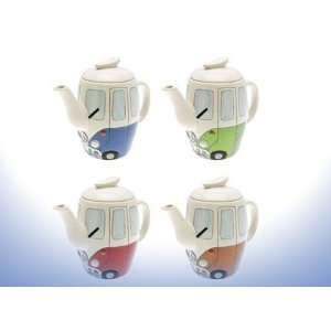 Collection Vw Camper Van Tea Pot  Kitchen & Dining