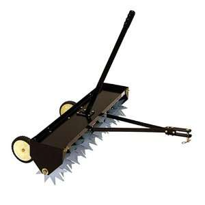 40 Inch Tow Behind Spike Lawn Aerator 45 0346 Patio, Lawn & Garden