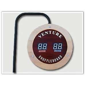 Inch Round Venture Shuffleboard Electric Scoring Unit Toys & Games