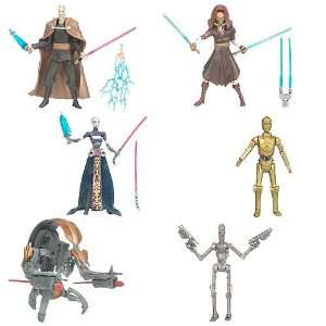 Star Wars Clone Wars Action Figures Wave 3 Set Toys & Games