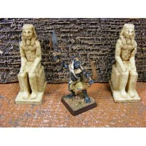 Miniature Terrain Egyptian Statues Toys & Games