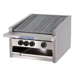 Bakers Pride L 24GS 24 Countertop Glo Stone Charbroiler
