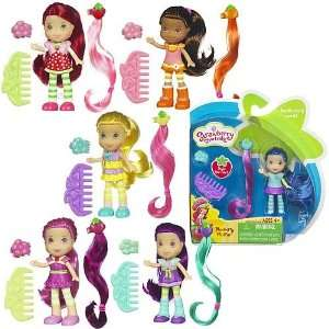Strawberry Shortcake Hair Play Mini Dolls Wave 1 Toys