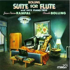 Bolling Suite for Flute and Jazz Piano Trio Music