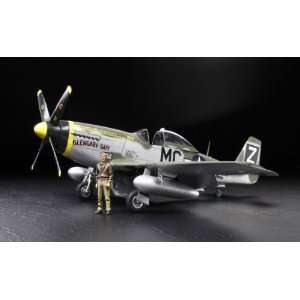 Tamiya 1/32 North American P 51D Mustang Kit Toys & Games