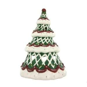 Ceramic Christmas Tree Tealight Holder