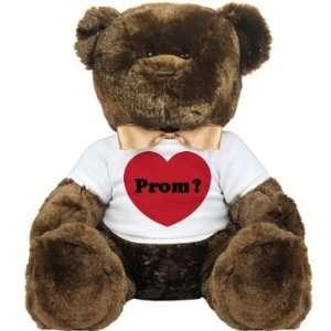 Prom Bears Big Question Custom Large Plush Teddy Bear Toys & Games