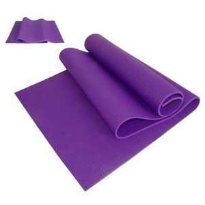 Cosmos ® Purple 68x 1/4 Extra Thick PVC Yoga mat for Beginner
