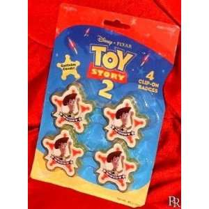 Original Toy Story 2 Woody Deputy Badges with Candy