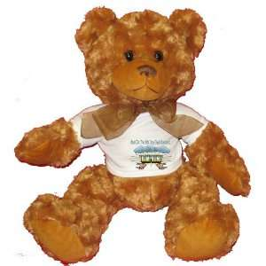 And On The 8th Day God Created TRAMPOLINES Plush Teddy