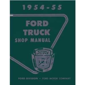 1954 1955 FORD TRUCK Shop Service Repair Manual Book