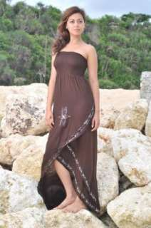 full length beach dress/coverup Tube Top (many colors) Clothing