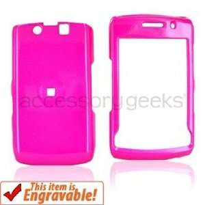 Blackberry Storm 2 9550 Hot Pink Hard Case Cover Protector